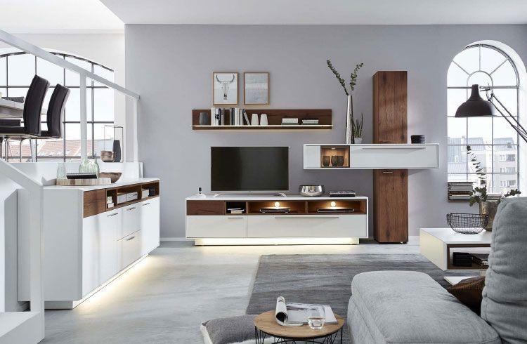 moebel-berning-lingen-rheine-wohnwelten-wohnen-wohnzimmer-wohnwand-vitrine-beleuchtung-kommode-regal-interliving-weiss