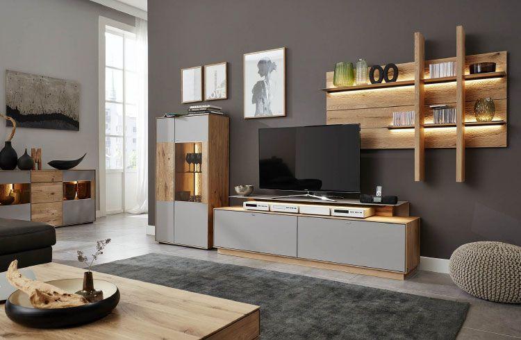 moebel-berning-lingen-rheine-wohnwelten-wohnen-wohnzimmer-wohnwand-vitrine-led-beleuchtung-kommode-regal-interliving-grau