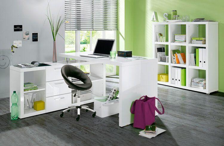 moebel-berning-lingen-rheine-wohnwelten-wohnen-home-office-schreibtisch-buerostuhl-gruen-weiss-regal-stauraum