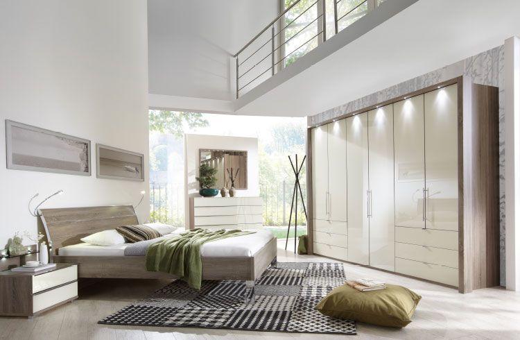 moebel-berning-lingen-rheine-schlafen-schlafzimmer-schraenke-kleiderschrank--trueffeleiche-magnolie-hochglanz-weiss-bett-nachtkonsole-kommode-sideboard