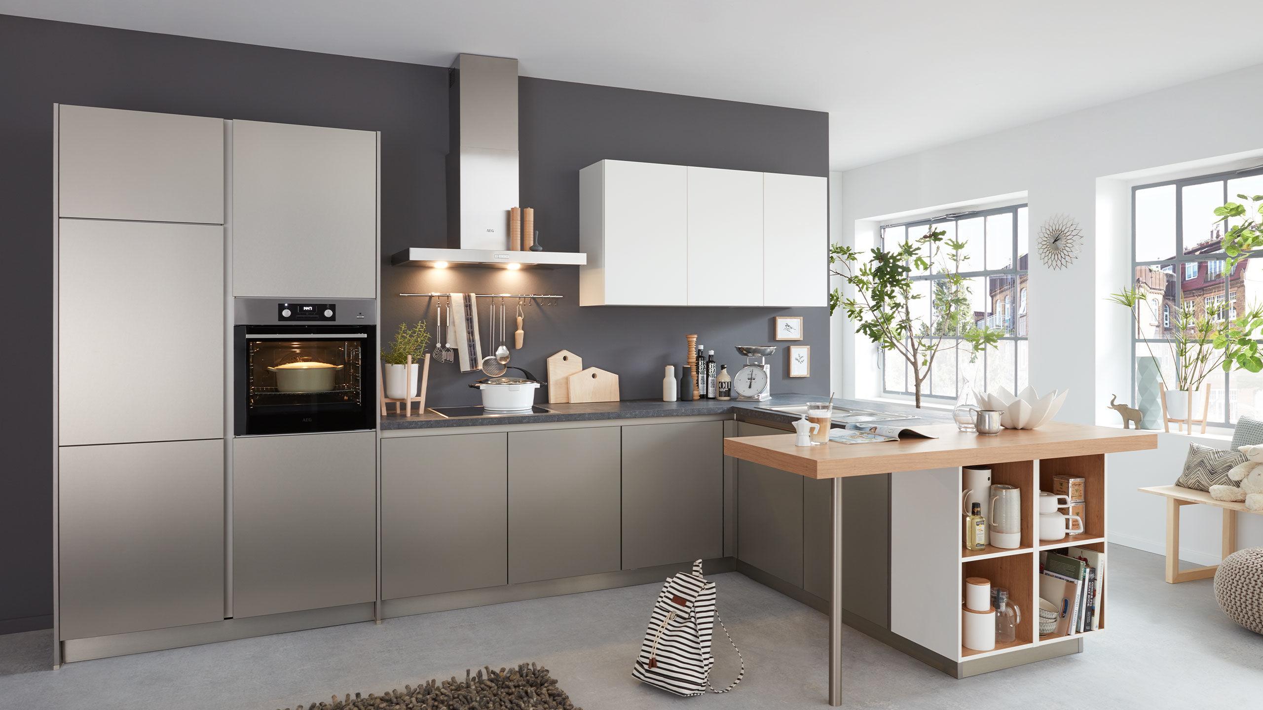 Praktische L-Küche \