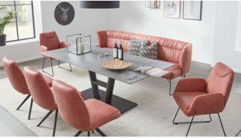 Interliving  Design-Tisch 5105 Grau