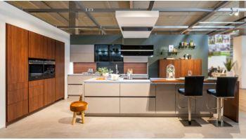 Inselküche - Stone Art von Nolte Küchen - RH - Koje 301