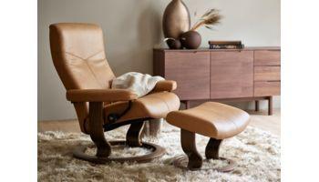 Stressless Sessel und Hocker Dover Taupe