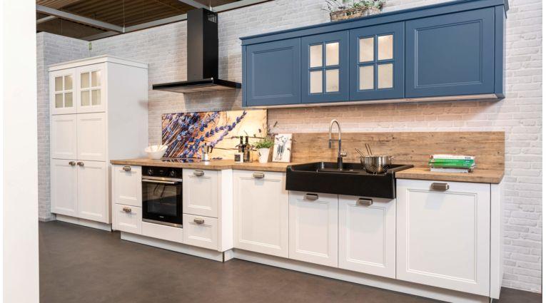 Nolte - Windsorlack - Küchenzeile -Ausstellungsküche - Rh Koje 31